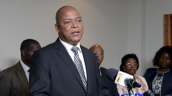 Manuel Bissopo, secretário-geral da Renamo (Resistência Nacional Moçambicana) e candidato à liderança do partido