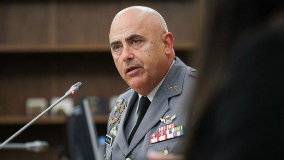 O coronel de infantaria Alves Pereira, ex-comandante do Regimento de Paraquedistas, foi ouvido na comissão parlamentar de inquérito ao furto de material de guerra em Tancos