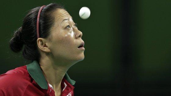 A portuguesa Fu Yu jogará contra a alemã Petrissa Solja na ronda seguinte, agendada para sexta-feira