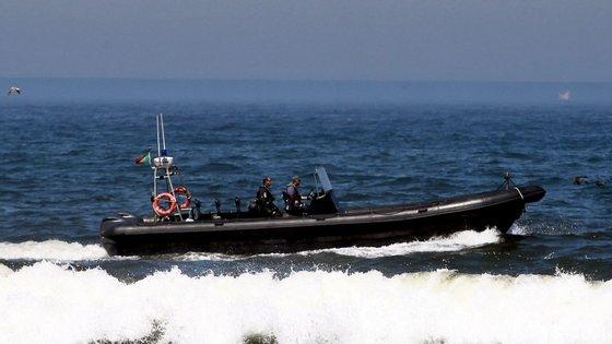 A equipa da Polícia Marítima portuguesa encontrava-se em missão na ilha grega de Lesbos