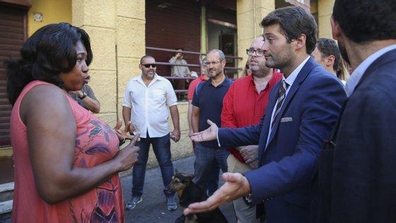 O presidente da Comissão Instaladora do Chega afirmou que serão entregues entre 7.500 e 8.000 assinaturas no Palácio Ratton