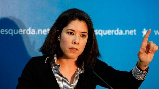 Joana Mortágua é vereadora do Bloco de Esquerda, sem pelouros, em Almada