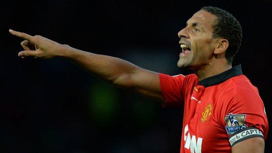 Rio Ferdinand ganhou 14 títulos no Manchester United, entre os quais a Liga dos Campeões com Ronaldo em 2008