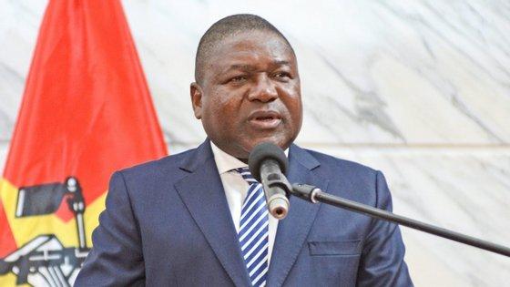 O Presidente moçambicano falava durante uma cerimónia de receção do corpo diplomático acreditado em Maputo