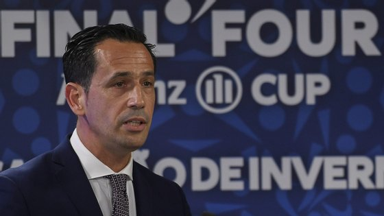 Pedro Proença, presidente da Liga Portuguesa de Futebol Profissional (LPFP)