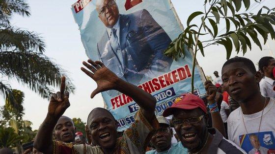 O presidente eleito, de 55 anos e filho do histórico opositor Étienne Tshisekedi, será o quinto presidente do país, ao suceder a Joseph Kabila
