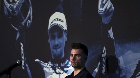 Miguel Oliveira, está a pouco mais de um mês de se estrear em competição