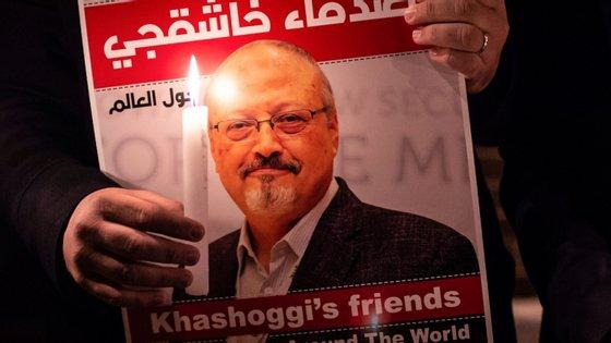 O assassínio do jornalista Jamal Khashoggi ocorreuno dia 2 de outubro, no consulado saudita em Istambul