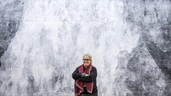 Acompanhámos a montagem da exposição de Tacita Dean no Museu de Serralves