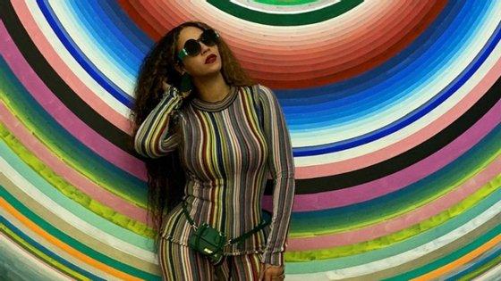 Beyoncé vestiu Marques'Almeida para ir às compras com a filha. Mas a cantora já tinha usado moda portuguesa. Quando?