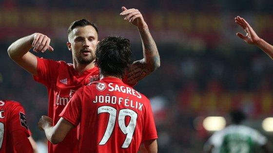 A dupla de avançados valeu esta terça-feira três golos e uma assistência ao Benfica