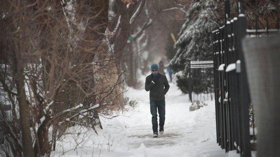Chicago é uma das zonas onde o frio extremo mais se fará sentir