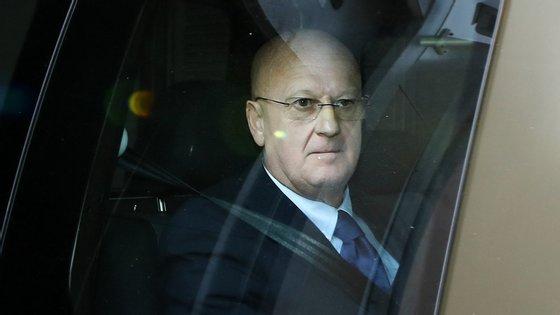 Luís Vieira contestou o facto de não ter tido acesso aos interrogatórios de posteriores arguidos do processo