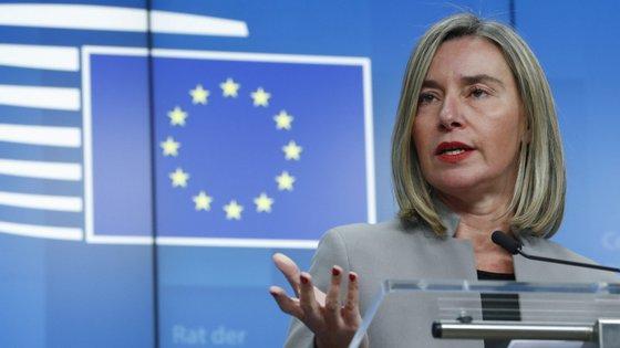 A Alta Representante da UE para a Política Externa, Federica Mogherini, falava à margem da reunião informal de ministros dos Negócios Estrangeiros a decorrer em Bucareste, Roménia