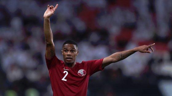 Pedro Correia é o titular indiscutível no lado direito da defesa do Qatar, que venceu o primeiro grande troféu internacional