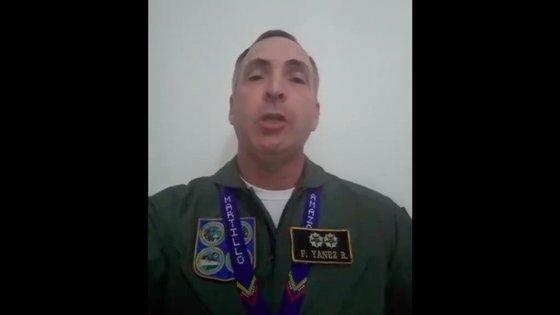 Francisco Estéban Yánez Rodríguez é também diretor de planificação estratégica do Alto Comando Militar de Aviação