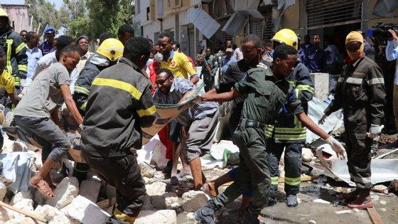 A explosão deu-se na capital da Somália, Mogadíscio