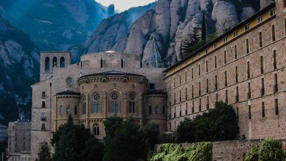 O mosteiro de Montserrat é um dos grandes símbolos da identidade catalã