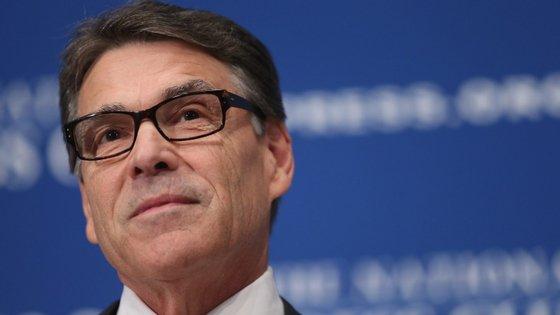 """Rick Perry, secretário para a Energia, foi o """"sobrevivente designado"""" escolhido por Donal Trump este ano"""