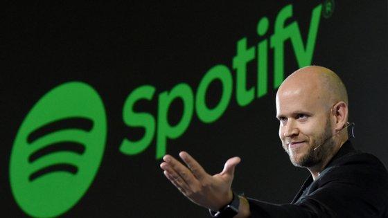 O CEO do Spotify, Daniel Ek, espear que as aquisições façam a plataforma crescer mais depressa