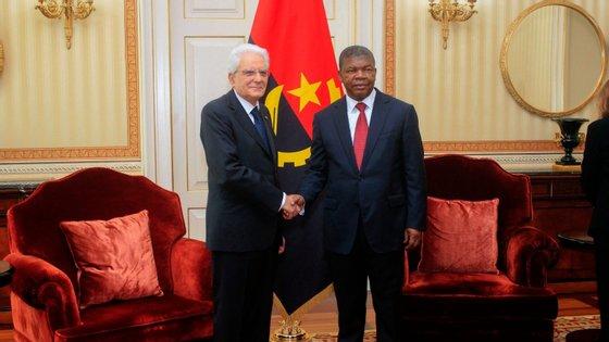 O Presidente angolano destacou os investimentos e a participação significativa da empresa petrolífera italiana ENI