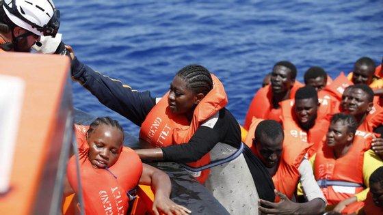 A Líbia tornou-se no principal ponto de partida em direção à Europa depois do encerramento da rota dos Balcãs e do Mar Egeu