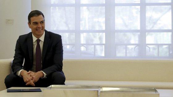 Pedro Sánchez, presidente do governo espanhol