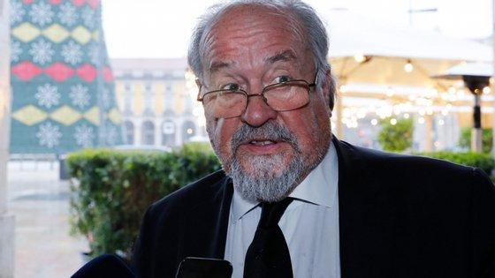 Jaime Soares, presidente da Liga dos Bombeiros Portugueses