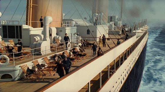 """O filme """"Titanic"""" valeu 11 óscares ao diretor James Cameron"""