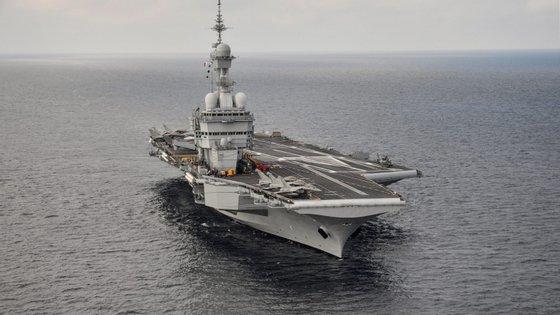 Segundo a Marinha, a operação vai contribuir para a segurança marítima no mar Mediterrâneo
