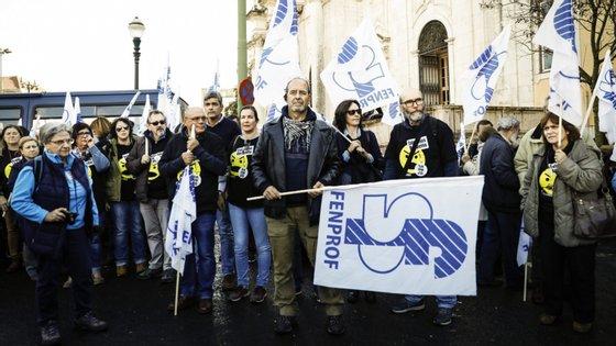 Está marcada para março uma manifestação nacional dos professores