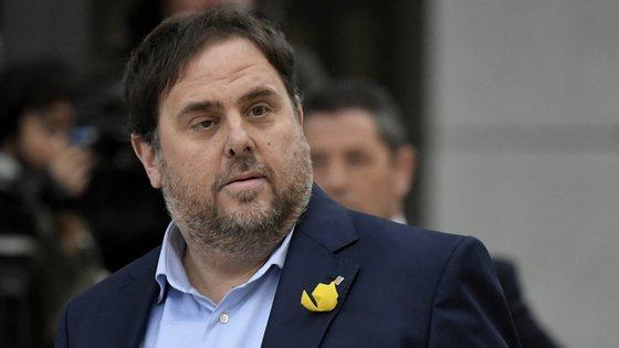 O número dois de Carles Puigdemont foi ouvido esta quinta-feira em tribunal