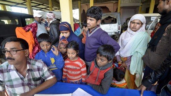 Mais de 745 mil rohingyas fugiram para o Bangladesh a partir de agosto de 2017, após um ataque de um grupo insurgente que levou a uma ofensiva militar pelo exército birmanês