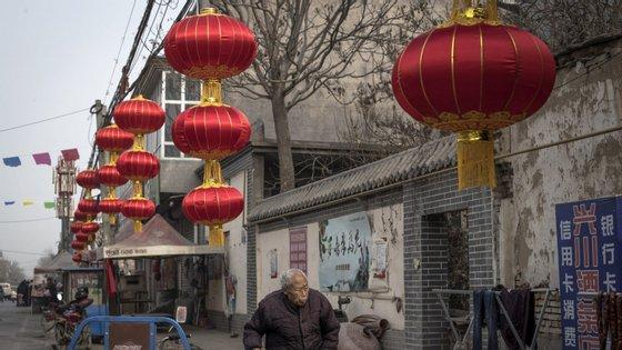 A China, nação mais populosa do mundo, com cerca de 1.400 milhões de habitantes