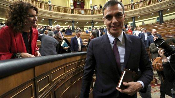 Oprimeiro-ministro Pedro Sanchez publica um livro a dois meses das eleições