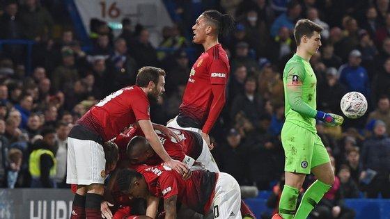 Nos quartos de final, o Manchester United vai defrontar o Wolverhampton, equipa comandada pelo português Nuno Espírito Santo