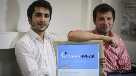 A Infraspeak foi fundada por por Felipe Ávila da Costa e Luís Martins, no Porto. Agora vai ter um escritório em Espanha e a equipa está a acompanhar o crescimento do número de clientes.