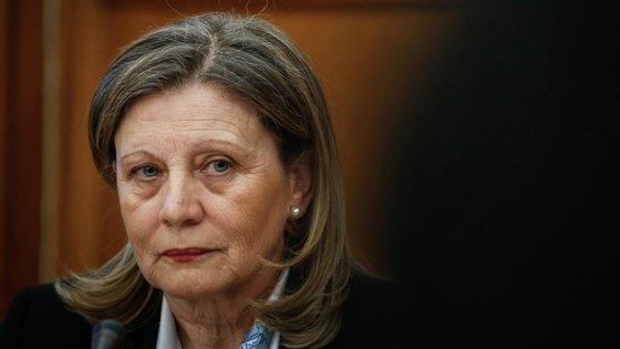 Helena Fazenda, secretária-geral do Sistema de Segurança Interna