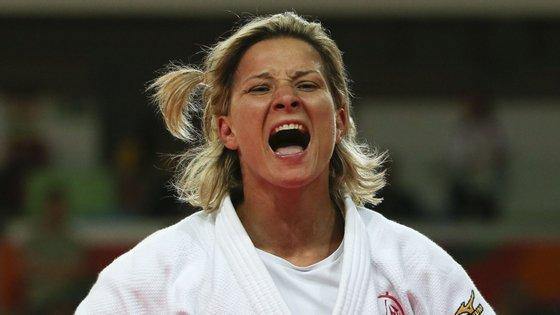 Telma Monteiro foi seis vezes campeã europeia e quatro vezes vice-campeã mundial