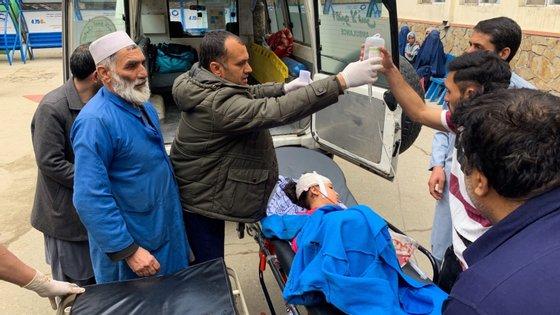 Há precisamente um ano, um atentado suicida no mesmo local causou mais de 30 mortos e 65 feridos.