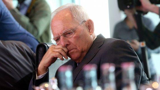 """O ex-ministro alemão Schäuble e a austeridade. """"Penso que podíamos ter feito as coisas de forma diferente"""""""