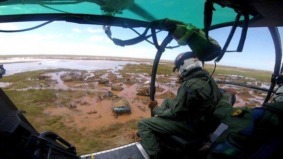 Esta equipa da Força de Reação Imediata (FRI) chegou a Moçambique na sexta-feira