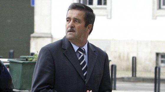 Manuel Godinho, ex-sucateiro, à chegada ao Tribunal de Aveiro em 2018