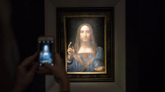 """Acredita-se que Leonardo Da Vinci pintou """"Salvator Mundi"""" na mesma altura que concluiu """"Mona Lisa"""""""