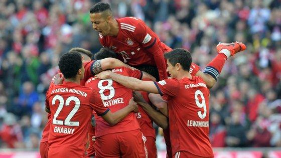 Depois da eliminação na Champions, a equipa de Niko Kovac tem agora como principal objetivo a conquista da Liga alemã