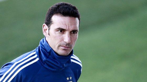 Scaloni tem 40 anos e é o selecionador da Argentina desde o final do ano passado