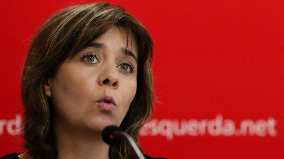 Catarina Martins anunciou Plano Ferroviário Nacional do BE no Peso da Régua