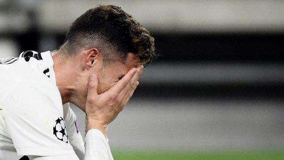 Ronaldo confirmou a veia goleadora nas fases decisivas da Champions mas foi curto para evitar eliminação da Juventus frente ao Ajax