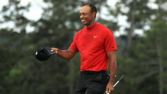 Tiger Woods tornou-se o segundo mais velho de sempre a ganhar o Masters de Augusta