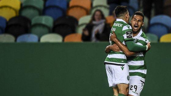 Luiz Phellype marcou nas últimas quatro jornadas, com os dois últimos golos a terem assistência de Acuña